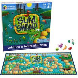 Sum Swamp數學叢林大冒險兒童桌遊