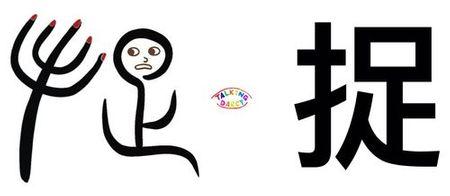 學中文象形字感(Chinese pictograph)捉