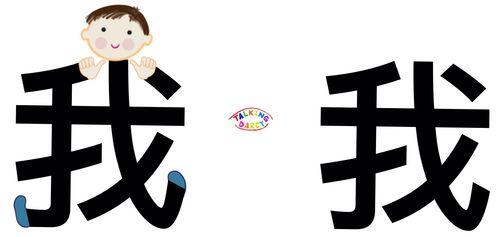 學中文象形字感(Chinese pictograph)我