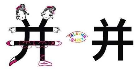 學中文象形字感(Chinese pictograph)并