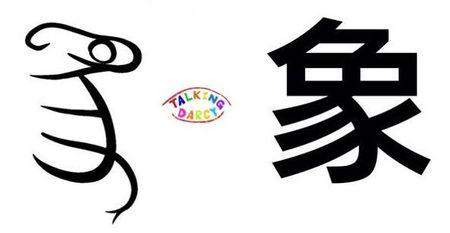 學中文象形字感(Chinese pictograph)象