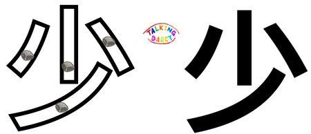 學中文象形字感(Chinese pictograph)少