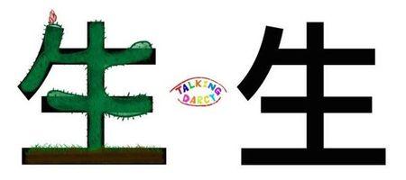 學中文象形字感(Chinese pictograph)生