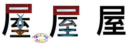 學中文象形字感(Chinese pictograph)屋