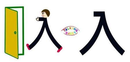 學中文象形字感(Chinese pictograph)入