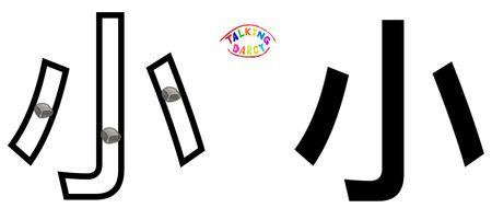 學中文象形字感(Chinese pictograph)小