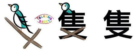 學中文象形字感(Chinese pictograph)隻