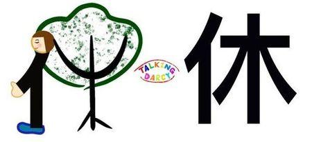 學中文象形字感(Chinese pictograph)休