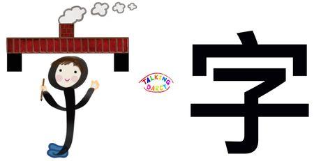 學中文象形字感(Chinese pictograph)字